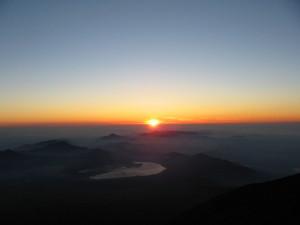 富士山ご来光1